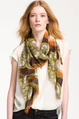 Brazen Abstract Ikat Scarf - Lyst