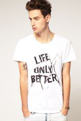 Cheap Monday Bruce Life Tshirt - Lyst
