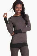 DKNY Banded Base Layer Top - Lyst