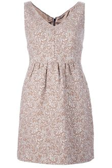Dolce & Gabbana Embroidered Floral Print Dress - Lyst