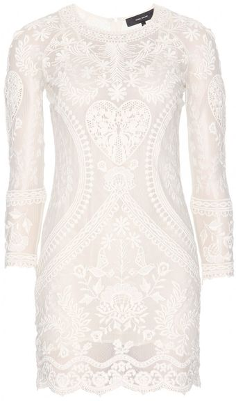 Isabel Marant Devi Embroidered Dress - Lyst