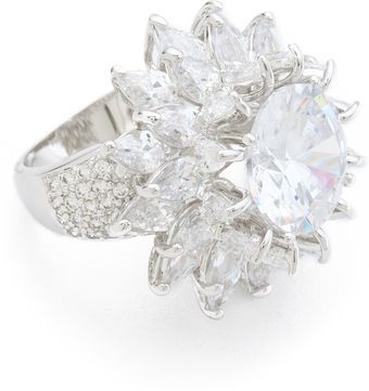 Kenneth Jay Lane Dimensional Flower Ring - Lyst
