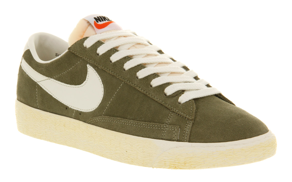 mens nike blazer low vintage trainers