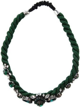 Shourouk Crystal Encrusted Head Band - Lyst