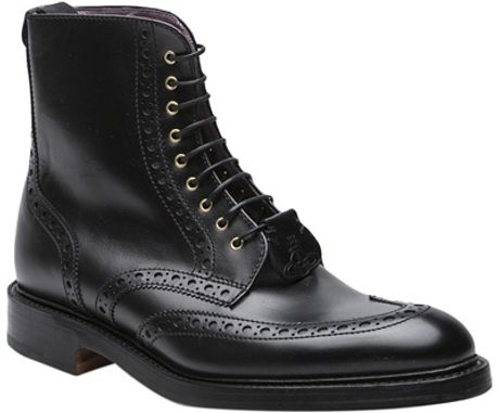 Vivienne Westwood Derby Boot in Black for Men - Lyst