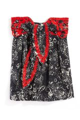 Isabel Marant Ss Nutea Top in Red (black) - Lyst
