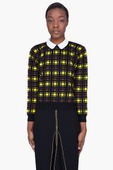 Marni  Wool Contrast Collar Blouse