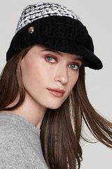 Michael Kors Michael High Low Knit Button Cap - Lyst