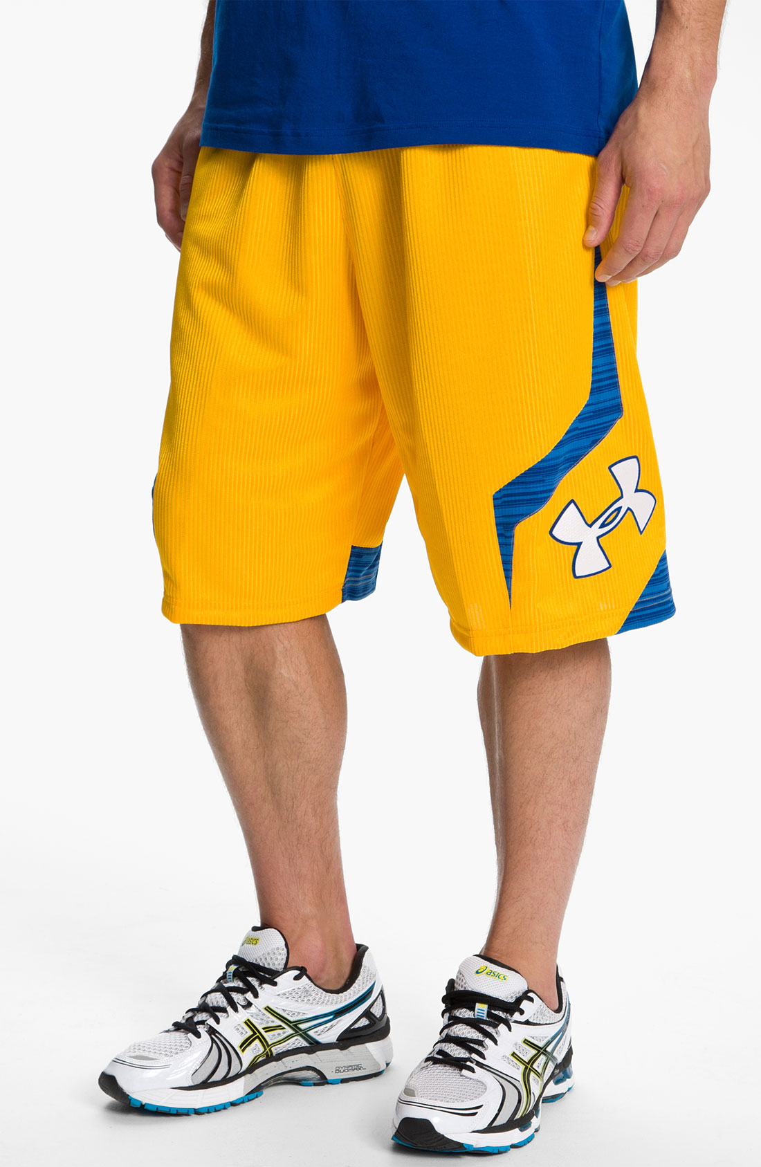 under armour valkyrie shorts in yellow for men lyst. Black Bedroom Furniture Sets. Home Design Ideas