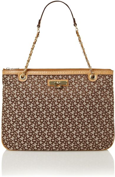 Dkny  Tote Bag in Brown (tan)