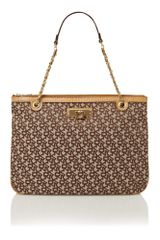 Dkny  Tote Bag in Brown (tan) - Lyst