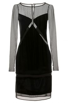 Emilio Pucci Velvet Dress with Cutout Detail - Lyst