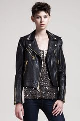 Rag & Bone Bowery Leather Jacket - Lyst
