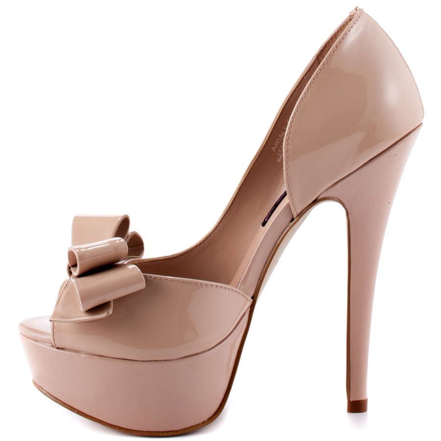 Sparkly Hot Pink Heels