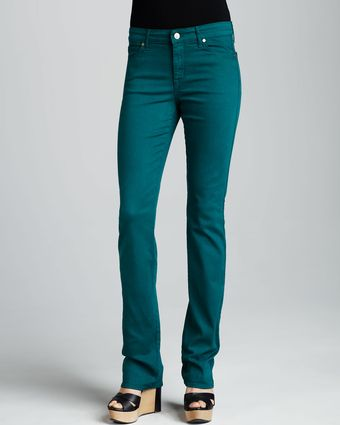 Cj By Cookie Johnson Faith Straightleg Jeans Emerald - Lyst