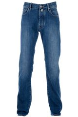 Jacob Cohen Straight Leg Jeans - Lyst