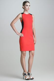 Jason Wu Sleeveless Contourseamed Dress - Lyst