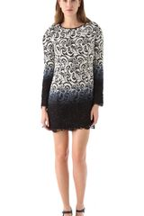 Jen Kao Newsgirl Lace Shelly Dress - Lyst