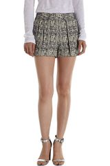 Proenza Schouler Pleated Tweed Shorts - Lyst