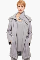 Akris Punto Hooded Technical Parka - Lyst
