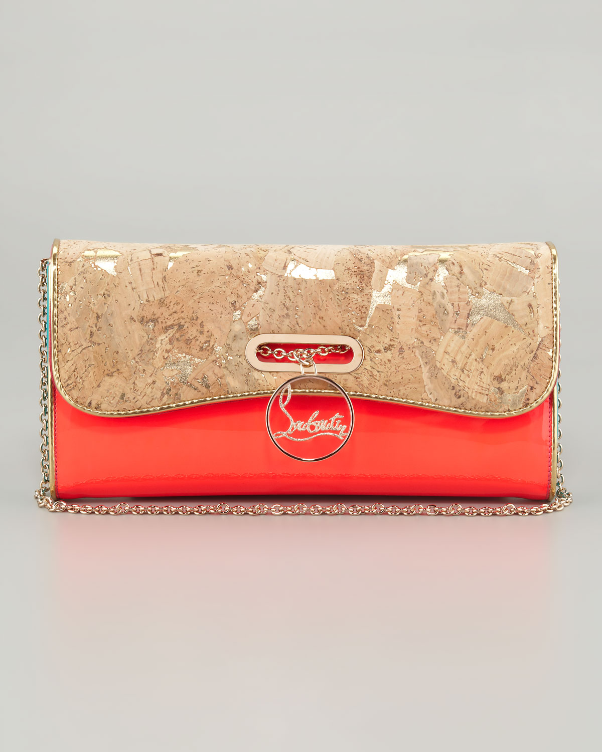 christian louboutin pigalle clutch replica