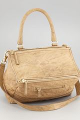 Givenchy Pandora Medium Satchel Bag Bronz - Lyst