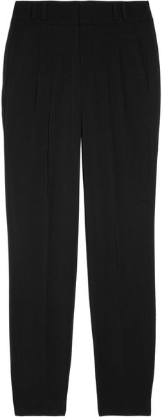 Helmut Lang Angorablend Tapered Pants - Lyst