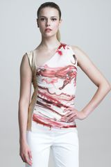 Jean Paul Gaultier Graffitiprint Top - Lyst
