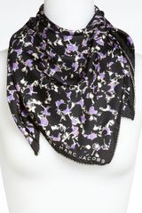 Marc By Marc Jacobs Exeter Print Silk Scarf