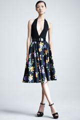 Ralph Lauren Collection Lenorah Floralprint Aline Skirt - Lyst
