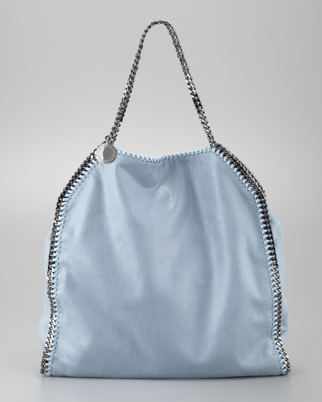 Stella mccartney Falabella Tote Bag Duck Blue in Blue
