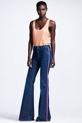 Stella McCartney Neonpiped Flare Jeans - Lyst