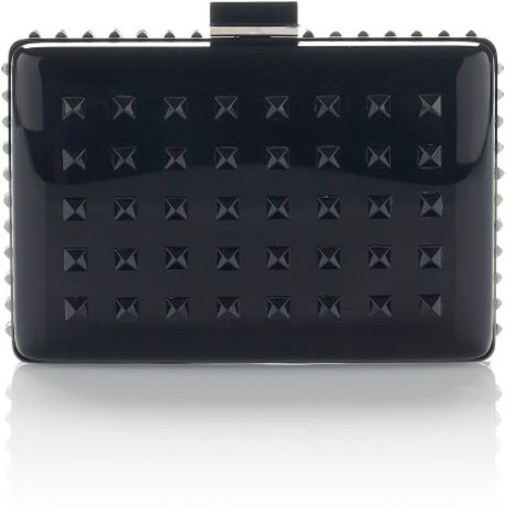 Valentino  Black Minaudière in Black - Lyst