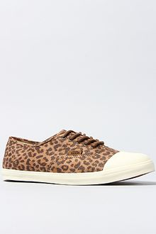 Vans The Authentic Lo Pro Tc Sneaker in Leopard Suede and Marshmallow - Lyst