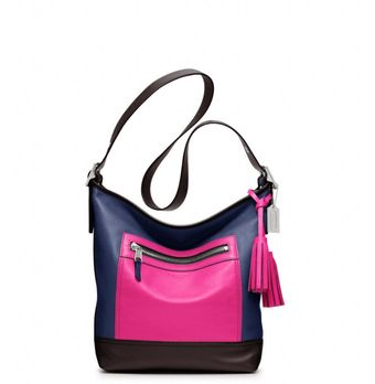 Coach Legacy Colorblock Leather Duffle - Lyst
