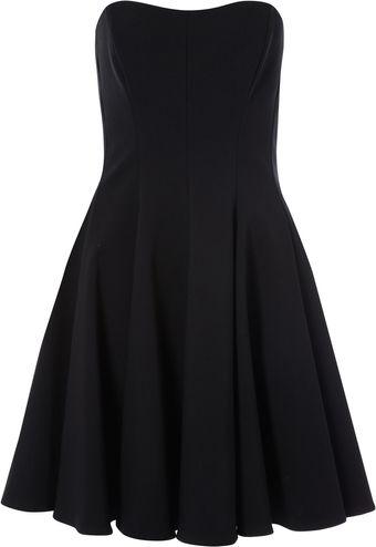 French Connection Say It Strapless Dress - Lyst