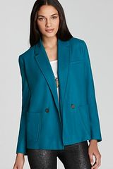 French Connection Astral Wool Jacket  With Button Front - Lyst