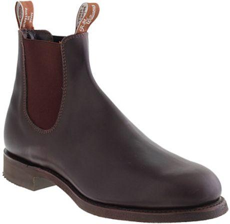 J Crew Rm Williams Gardener Boots In Brown For Men Brown