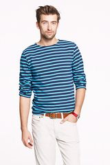 J.Crew Saint James Unisex Meridien Ii Nautical Tee