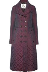 Burberry Quilted Shell Coat - Lyst