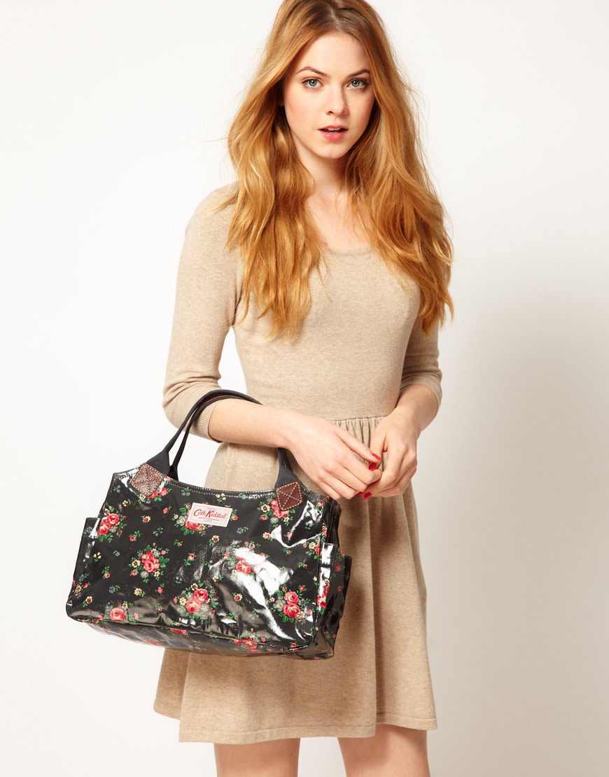 Lyst Cath Kidston Shoulder Bag In Black