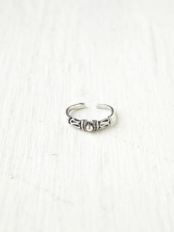 Free People Sterling Silver Midi Ring - Lyst