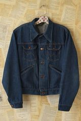 Free People Vintage Wrangler Denim Jacket - Lyst