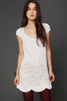 Free People Fp New Romantics Speak Easy Shift Dress - Lyst