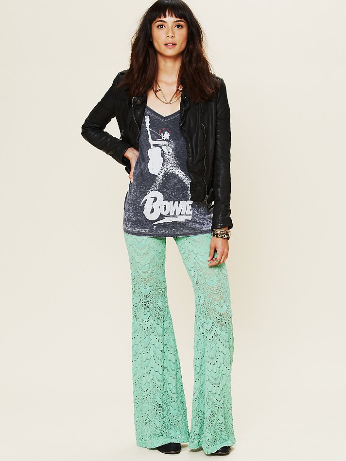 Lyst - Free People Spanish Lace Pants in Green