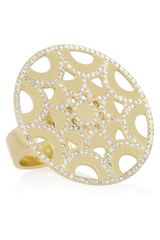 Ileana Makri Star 18karat Gold Diamond Ring - Lyst