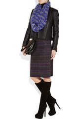 Missoni Crochetknit Snood in Purple - Lyst