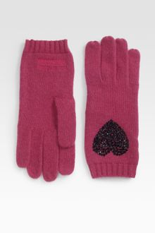 Moschino Cheap & Chic Heart Gypsy Gloves - Lyst
