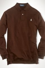 Polo Ralph Lauren Classic Longsleeved Interlock - Lyst