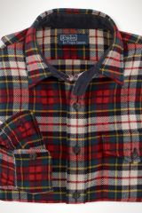 Polo Ralph Lauren Customfit Lodge Plaid Shirt - Lyst